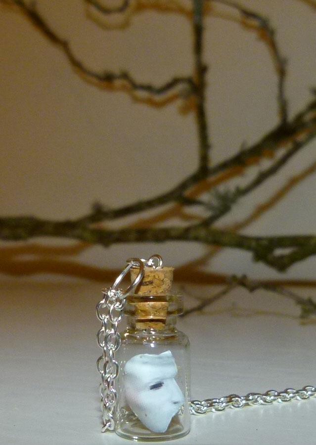 Phantom Of The Opera Jewellery Handmade Clay One Of A